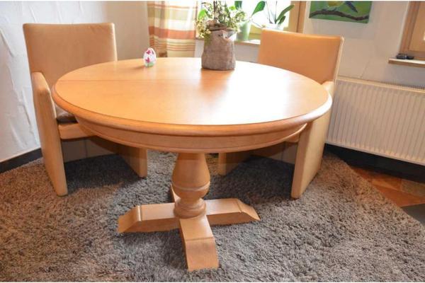 chalet la pineta s ulentisch rund oval ausziegbar 39 preisreduziert 39 in niederfischbach. Black Bedroom Furniture Sets. Home Design Ideas