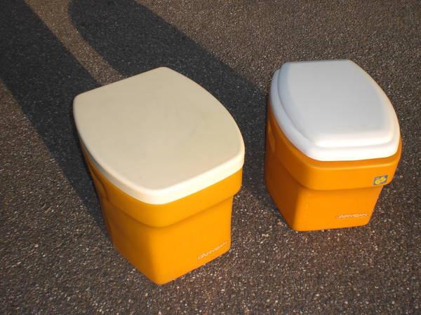 chemische toilette mit eimer in muggensturm campingartikel kaufen und verkaufen ber private. Black Bedroom Furniture Sets. Home Design Ideas