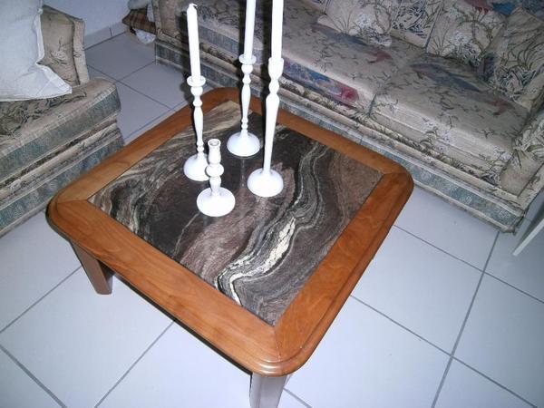 Holz couchtisch neu und gebraucht kaufen bei for Marmorplatte gebraucht