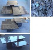 Couch-Tisch 3er-