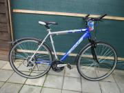 Crossfahrrad Mountaiinbike, Trekkinfahrrad