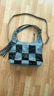 Damen Handtasche, Wildleder,