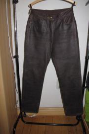 Damen-Leder-Hosen