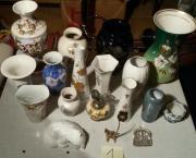 diverse Vasen, Figuren,