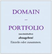 Domain-Portfolio - umständehalber