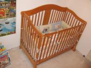 Echtholz Babybett Kinderbett
