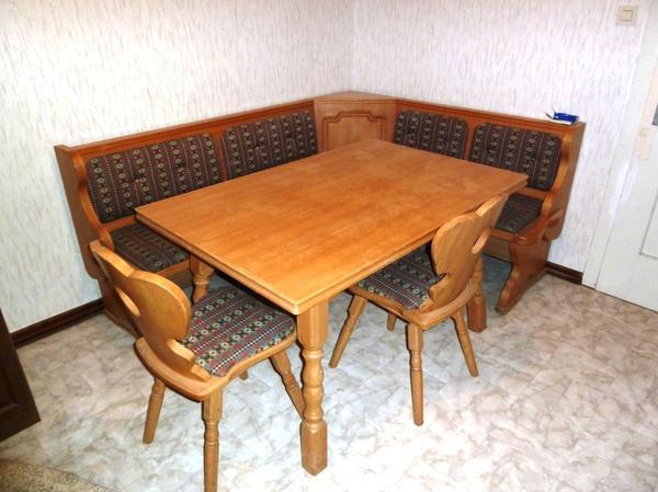 eckbank buche neu und gebraucht kaufen bei. Black Bedroom Furniture Sets. Home Design Ideas