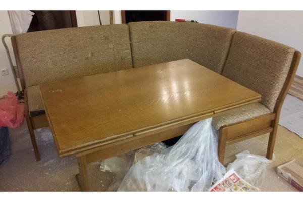 eckbank mit tisch in leonberg speisezimmer essecken kaufen und verkaufen ber private. Black Bedroom Furniture Sets. Home Design Ideas