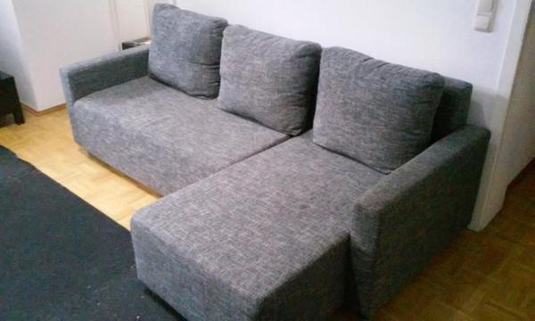 eckschlafcouch ikea kaum gebraucht in m nchen ikea m bel. Black Bedroom Furniture Sets. Home Design Ideas