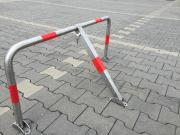 EDELSTAHL Parkplatzsperre Klappbar