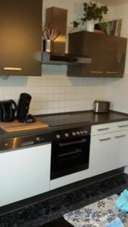 Einbauküche, Hochglanzweiss/ grau, *