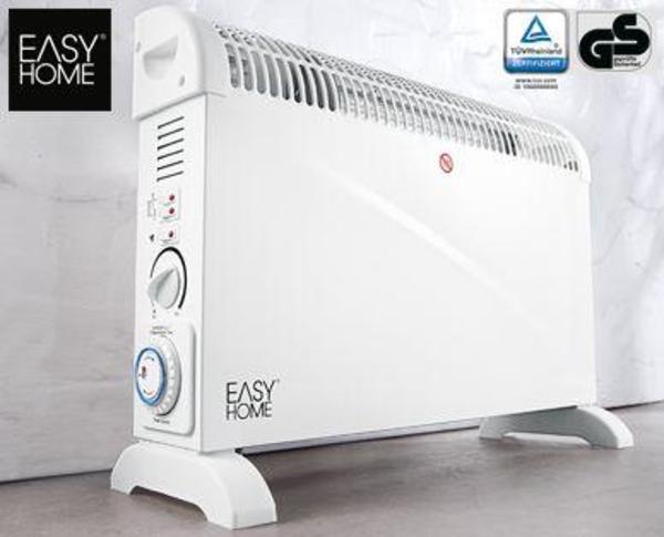 elektro konvektor heizung heizl fter 2000 w von easy home in kiedrich elektro heizungen. Black Bedroom Furniture Sets. Home Design Ideas