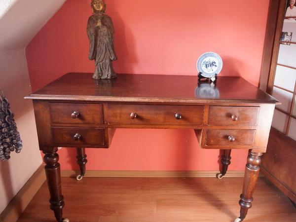 englischer schreibtisch aus viktorianischer epoche in. Black Bedroom Furniture Sets. Home Design Ideas