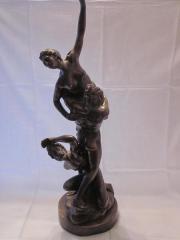 Erotische Bronze Aktskulptur