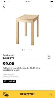 Esstisch BJURSTA Ikea