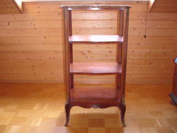 etagere regal gestell gro empire alt antik aus der zeit. Black Bedroom Furniture Sets. Home Design Ideas