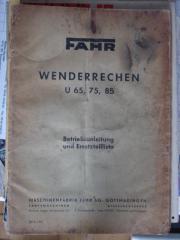 FAHR-Wenderrechen U65-