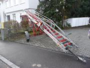 Fahrbare Zweiradleiter, Auszugleiter