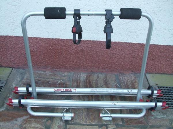 fahrradtr ger f r caravan flama carry bike in. Black Bedroom Furniture Sets. Home Design Ideas