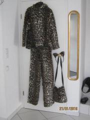 Fastnachtskostüm Gepardenfell