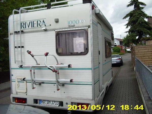 fiat ducato riviera in oftersheim wohnmobile kaufen und. Black Bedroom Furniture Sets. Home Design Ideas