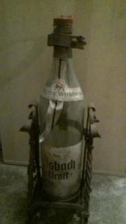 Flaschenständer schmiedeeisern