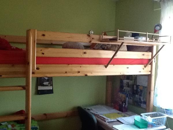 flexa hochbett und flexa kleiderschrank auch einzeln verk uflich. Black Bedroom Furniture Sets. Home Design Ideas