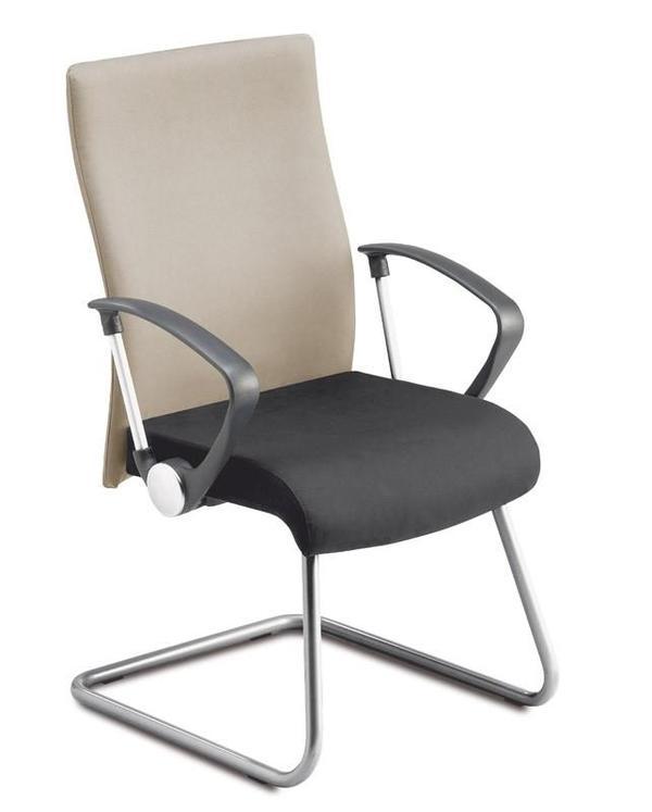 freischwinger mit armlehnen sehr bequem stabil und. Black Bedroom Furniture Sets. Home Design Ideas