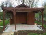 Gartenhaus in einer
