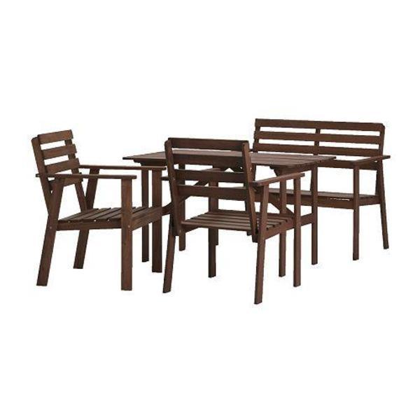gartenm bel tuller von ikea mit anderem tisch in mainz kaufen und verkaufen ber private. Black Bedroom Furniture Sets. Home Design Ideas