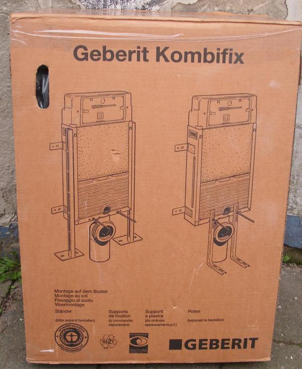 geberit kombifix unterputzsp lkasten in ludwigshafen bad. Black Bedroom Furniture Sets. Home Design Ideas