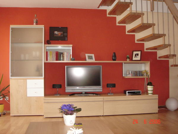 gelegenheit h lsta now time tv schrank mit klappe in. Black Bedroom Furniture Sets. Home Design Ideas