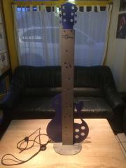 Gitarre mit Licht -