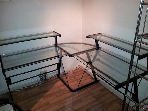 schreibtisch eck neu und gebraucht kaufen bei. Black Bedroom Furniture Sets. Home Design Ideas