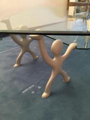 Glastisch,Couch- Warteraum-