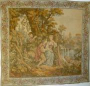 Gobelin Bildteppich romantische