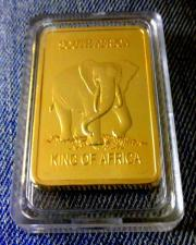 Goldbarren - Krügerrand Südafrika -