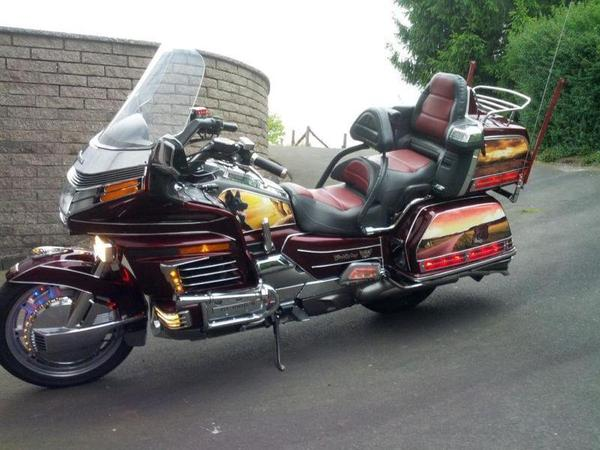 honda goldwing gespann honda bis 500 ccm car interior design. Black Bedroom Furniture Sets. Home Design Ideas