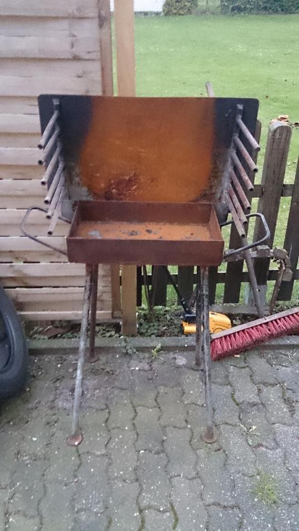 grill aus stahl selbstgebaut in werne k chenherde grill mikrowelle kaufen und verkaufen. Black Bedroom Furniture Sets. Home Design Ideas