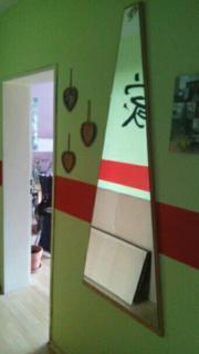 grosser Wandspiegel