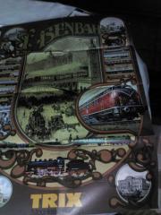 Großes Modellbahnposter