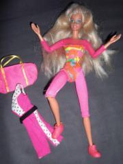 Gymnastik-Barbie