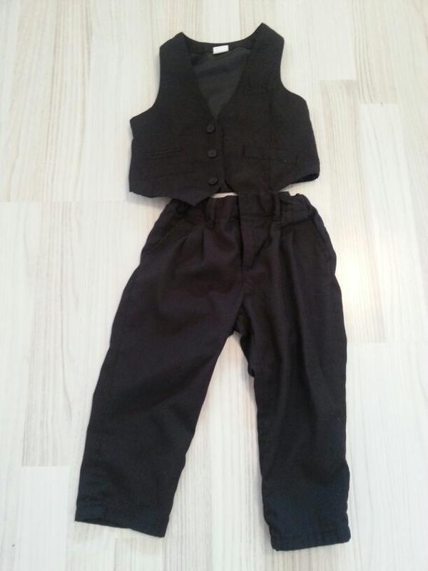 h m anzug gilet und hose gr 86 in rankweil babykleidung schuhe kaufen und verkaufen ber. Black Bedroom Furniture Sets. Home Design Ideas