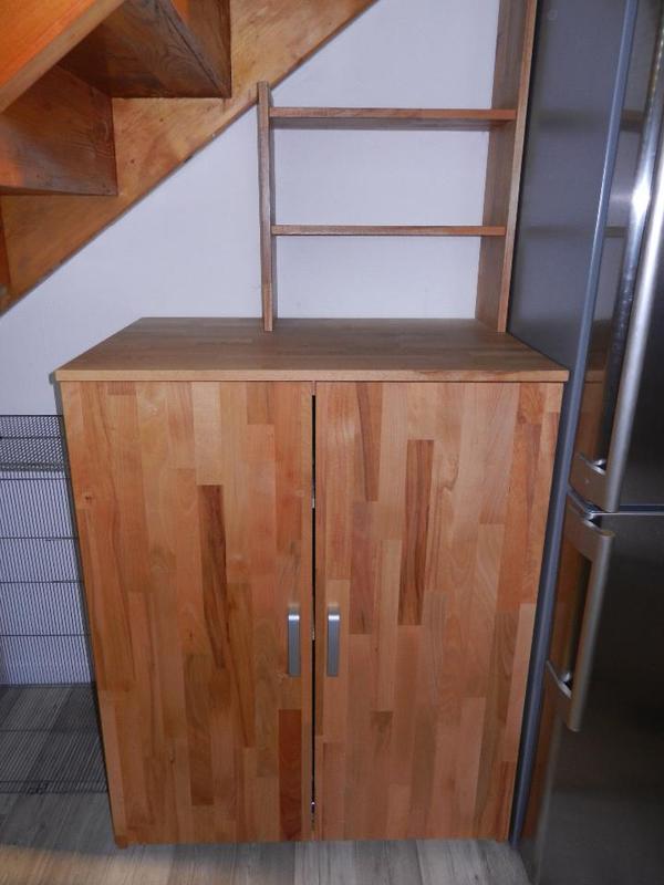Ich verkaufe ein handgemachtes sideboard aus buche massiv for Gebrauchte anbauwand
