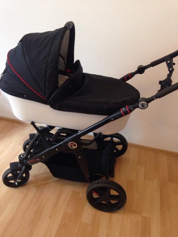 hartan racer gt mit fester babywanne von 2014 in ha loch. Black Bedroom Furniture Sets. Home Design Ideas
