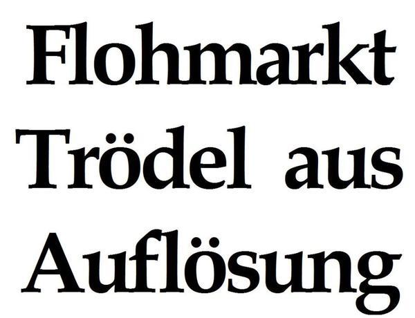 hausflohmarkt tr del flohmarkt haushaltsaufl sung wegen todesfall in ebermannstadt flohm rkte. Black Bedroom Furniture Sets. Home Design Ideas