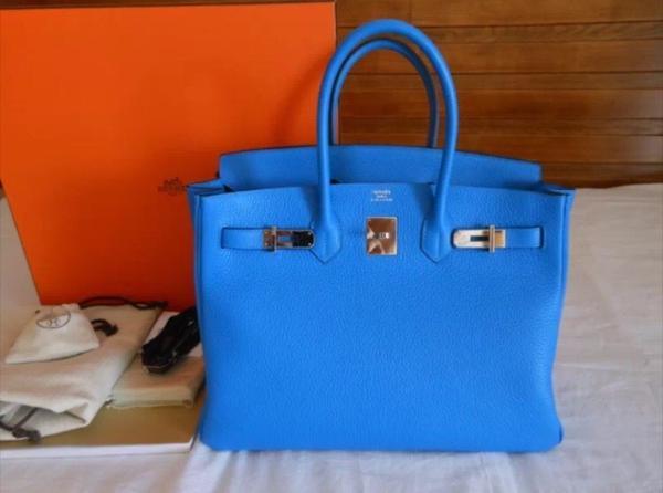 Hermes Tasche Blau