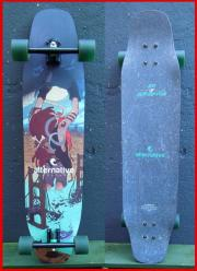 High-End Longboard