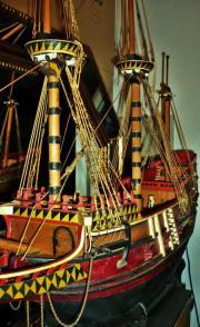 Historisches Modell Segelschiff-