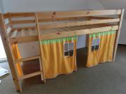 Hochbett Kinderbett Kiefer